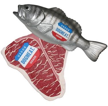【ペットプロジェクト】リアルな肉&魚シリーズ