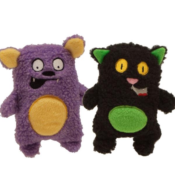 【Kyjenのハロウィーンおもちゃ】インビンシブル・ミニ クロネコ&コウモリ