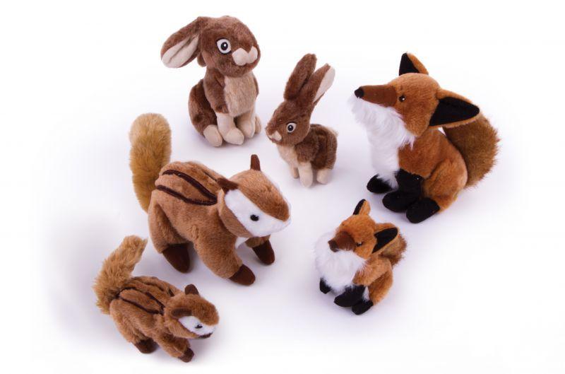 【柔らか丈夫な犬用おもちゃ】ゴードッグ・ワイルドライフ
