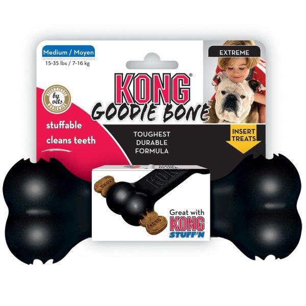 画像1: 【破壊犬のお留守番に!】頑丈ゴム製コング・グッディーボーン