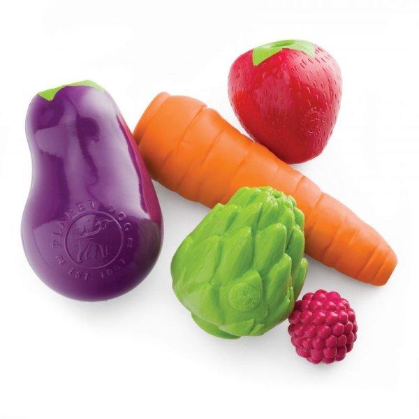 画像1: 【リアルで丈夫な知育トイ】オービータフ・野菜&果物