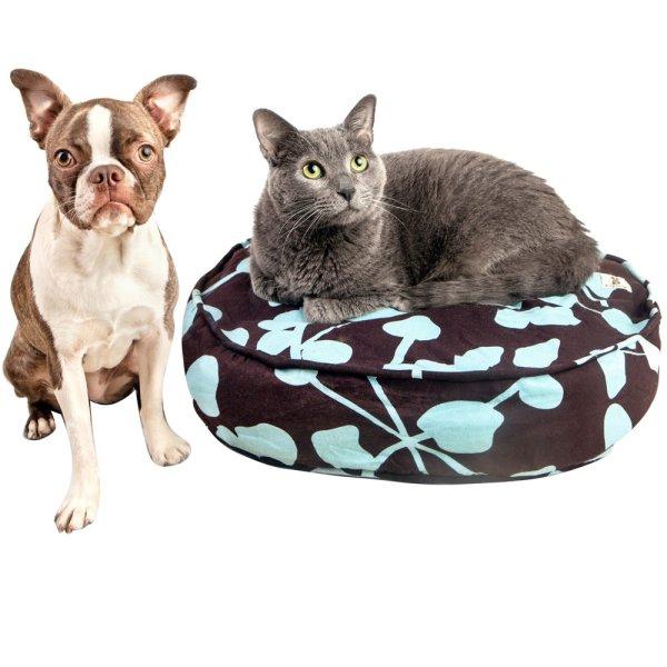 画像1: 【古着を入れるエコなペットベッド】モリーマット・プチ(猫&小型犬)
