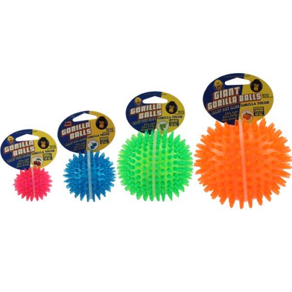画像1: 【噛み地最高のトゲトゲボール】PetSportUSAゴリラボール