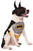 画像1: 【ハロウィーンの犬用コスチューム】クラシック・バットマン Mサイズ (1)