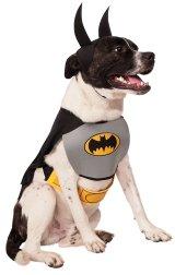 【ハロウィーンの犬用コスチューム】クラシック・バットマン Mサイズ