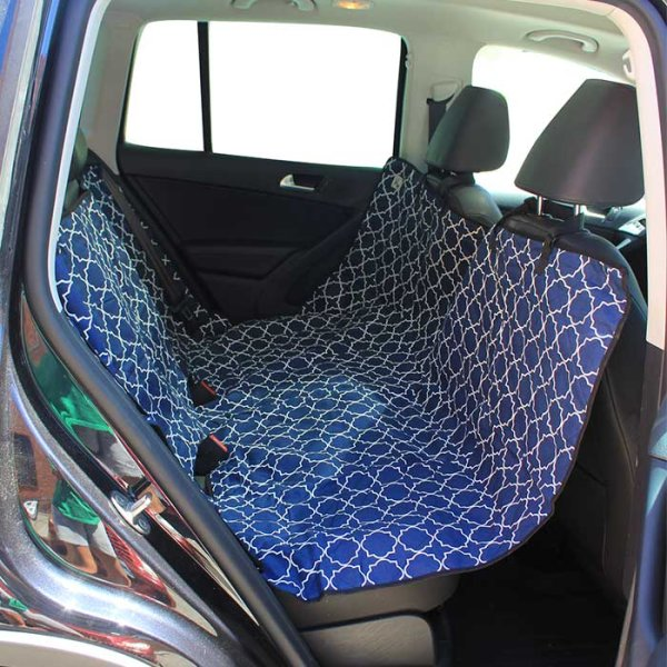 画像1: 【車をおしゃれに保護】モリーマット・カーシートカバー