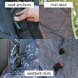 画像4: 【車をおしゃれに保護】モリーマット・カーシートカバー (4)