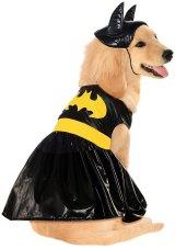 【ハロウィーンの犬用コスチューム】バットガール