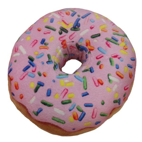 画像1: 【メッシュ補強の丈夫なぬいぐるみ】パワープラッシュ・ドーナツ