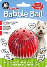 【18のおしゃべりサウンド&光るボール】ペットクワークス・ブリンキーバブルボール