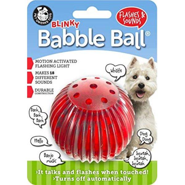 画像1: 【18のおしゃべりサウンド&光るボール】ペットクワークス・ブリンキーバブルボール