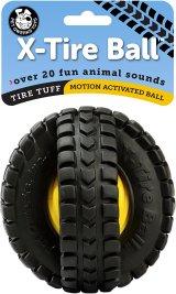 【20種以上の動物の音が出るボール】ペットクワークス・ドアニマルサウンド・Xタイヤボール