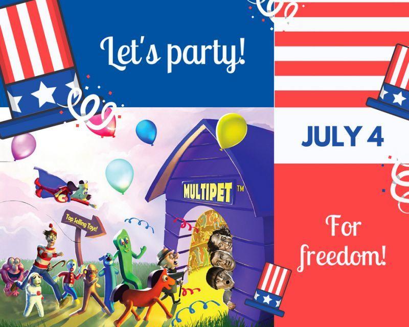 7/4はJuly4th,★アメリカ独立記念日★です