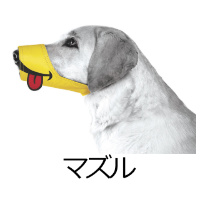 マズル(しつけ・マナーのための犬用マスク)